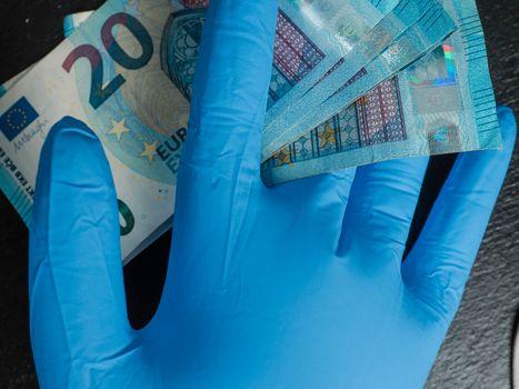 Brussels, Belgium - May 1st 2020 - Coronavirus: more financial p