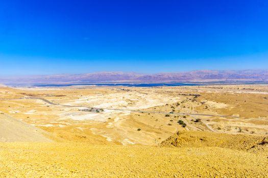 Landscape and salt evaporation ponds