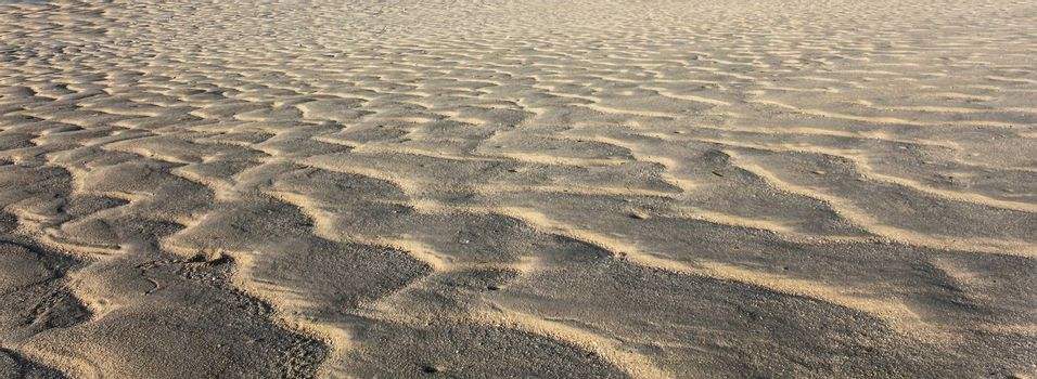 Sand Texture as seen in perspsctive with wave like pattern