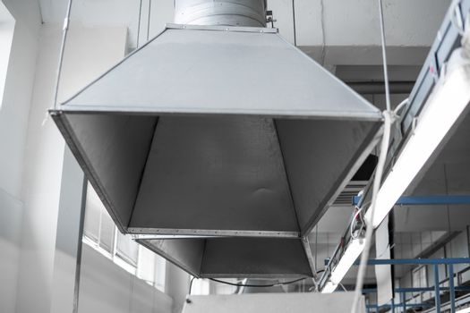 Industrial system of ventilation and air conditioning.