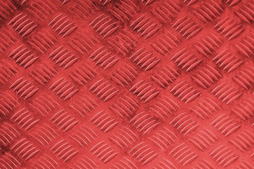 Metal Red with rhombus shapes and texture