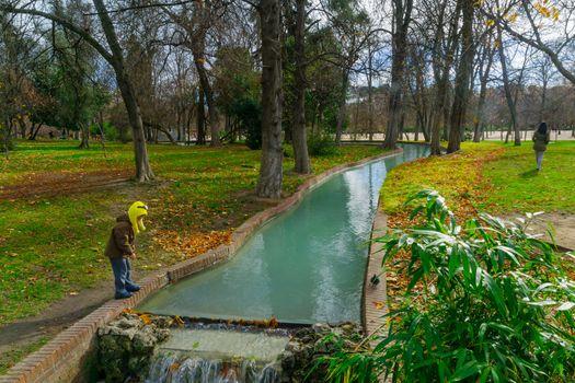 Buen Retiro Park, in Madrid