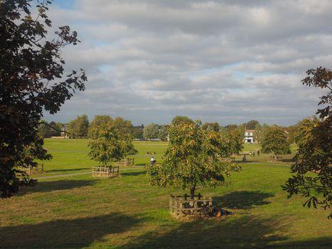 Midsummer Common park in Cambridge