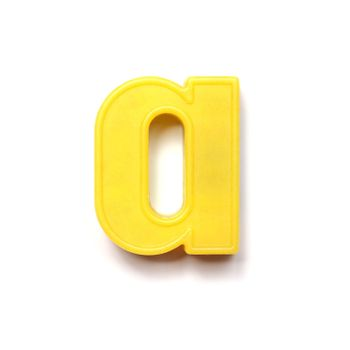 Magnetic lowercase letter A