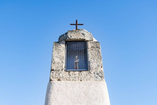 Oratory against blu sky, South of France, Europe
