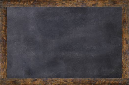 Blackboard as background and with space for writing