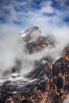 Monte Antelao (3263m) above San Vito di Cadore (close to Cortina