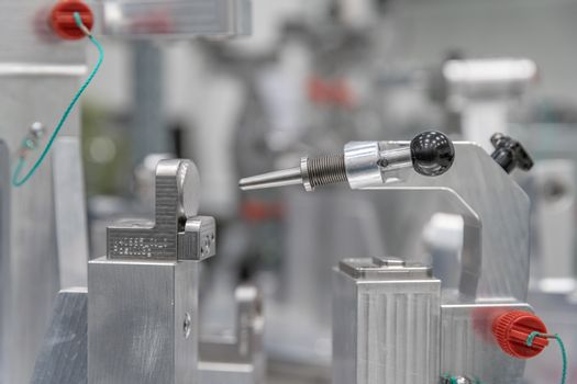 accurate 3D measurement of plastic castings with a modern machine. Creating a three-dimensional projection in a computer. industry 4.0