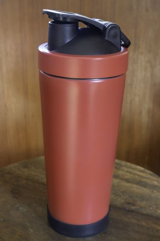 Individual refilled drink tumbler mug, stock photo