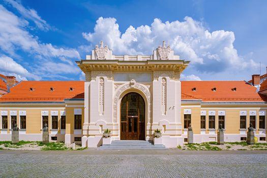 Building Inside of Alba Carolina Citadel, Alba Iulia, Romania
