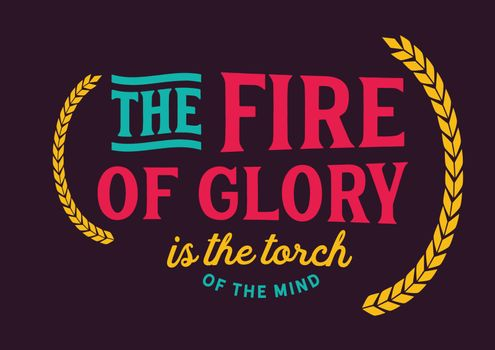The fire of glory