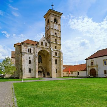 St. Michael's Cathedral in Alba Carolina Citadel, Alba Iulia, Romania