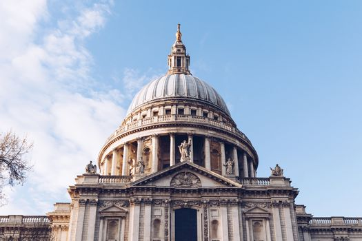 St Pauls Cathedral in London, UK