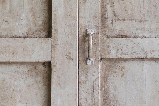 Minimalism style, Wood window pane