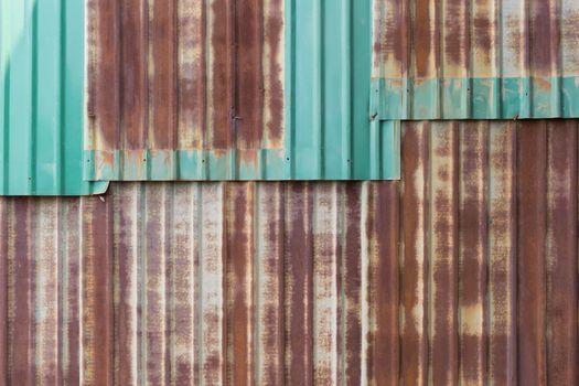 Minimalism style, Zinc wall