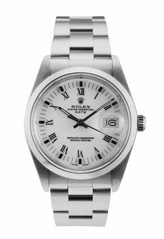 Rolex wrist watch isolated
