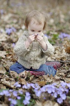 Little toddler girl