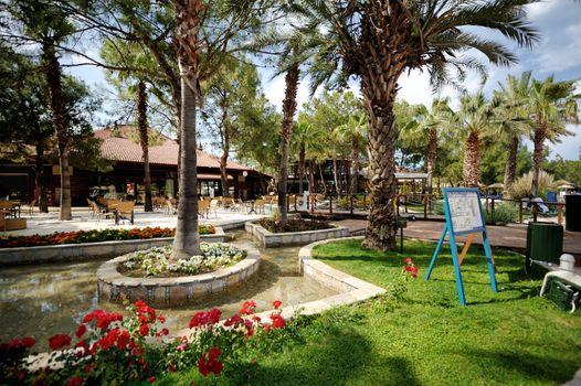 Turkish resort view