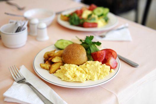 Traditional delicious breakfast