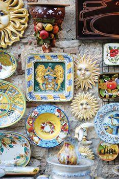 Traditional Italian ceramics