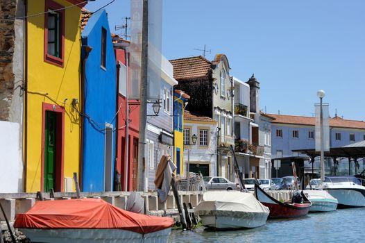 Traditional houses of Aveiro