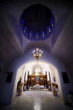 Orthodox church interior