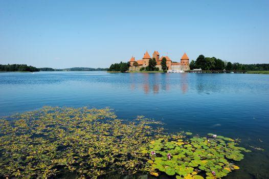 Trakai castle of Lithuania
