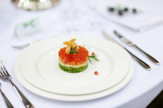 Fancy fish dish