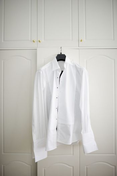 White man's shirt