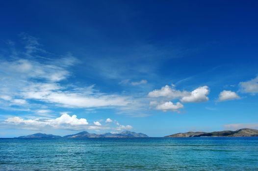 Spectacular seascape on Kos island