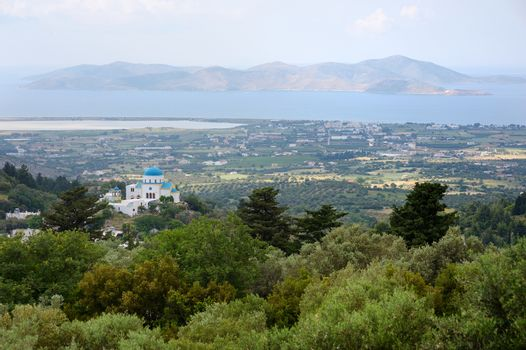 View from the village of Zia
