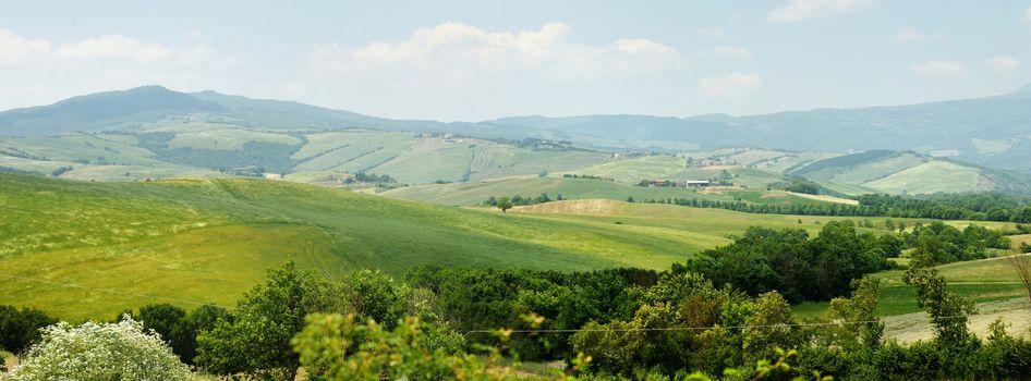 Picturesque Tuscany landscape