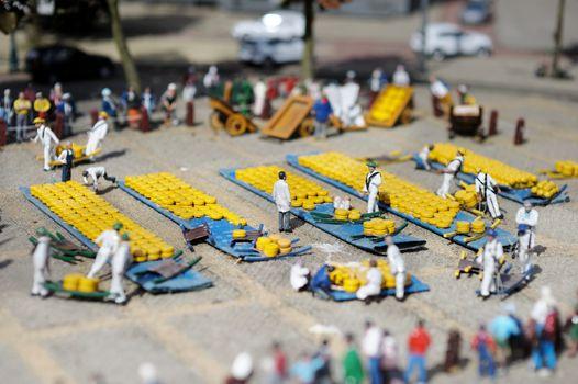 A scene in Madurodam miniature city