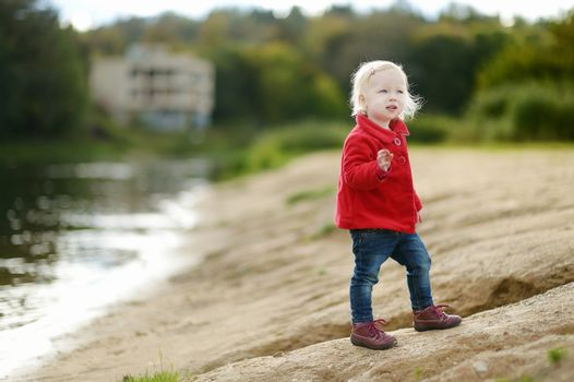 Adorable girl portrait outdoors
