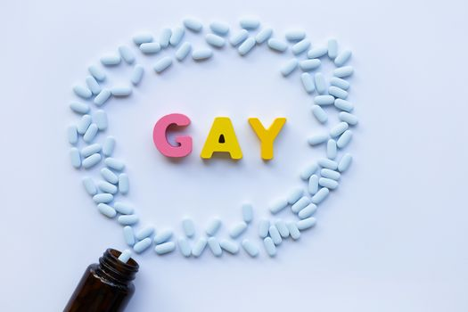 """""""PrEP"""" ( Pre-Exposure Prophylaxis). used to prevent HIV with """"GA"""
