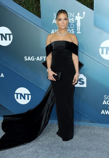 Jennifer Lopez at the 26th Annual Screen Actors Guild Awards held at the Shrine Auditorium in Los Angeles, USA on January 19, 2020.