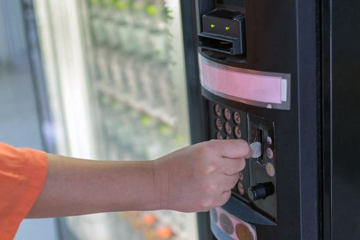 Water drink vending machine