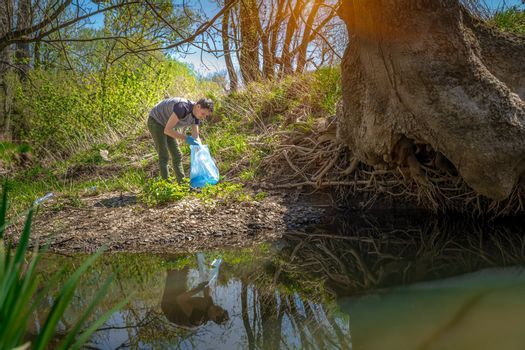 cleaning of forests and parks from garbage, waste collection and sorting, environmental assistance
