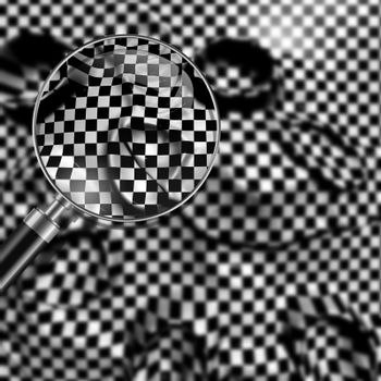 checkered texture 3d background  made in 3d software