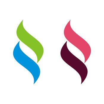 Flame Ornamental vector Logo Template Illustration Design. Vector EPS 10.