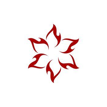 Star Flame vector Logo Template Illustration Design. Vector EPS 10.