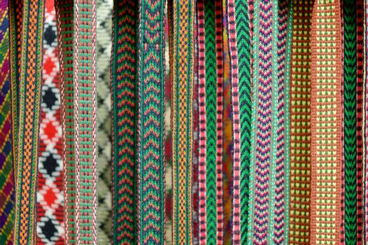 Detail of a traditional Lithuanian weave