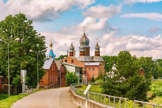 The Orthodox Church of The Holy Spirit in Jekabpils, Latvia