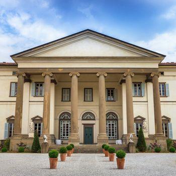 Italian villa in neoclassical style