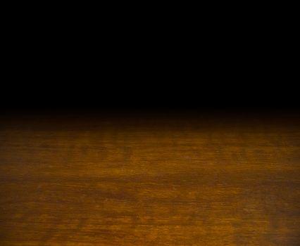 wooden table mock up platform for interior decoration design or advertising display background