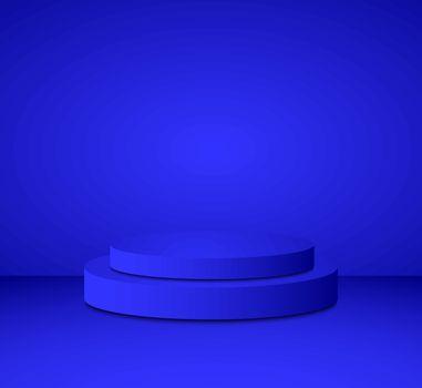 3d  cylinder podium minimal studio background. Abstract 3d geometric shape object illustration render Display
