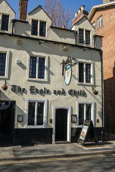 Eagle and Child literary pub, Oxford