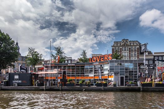 Office of Loverss canal cruises close to Central Railway station