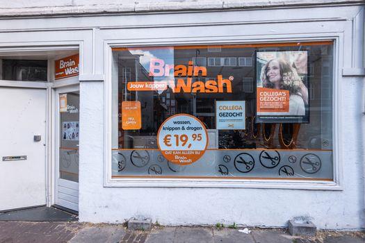 Brain Wash hair salon in Amsterdam Netherlands.