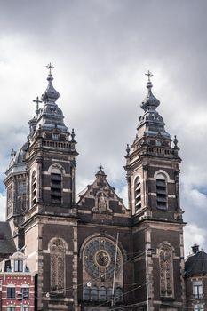 Basilica of Saint Nicolas in Amsterdam Netherlands.